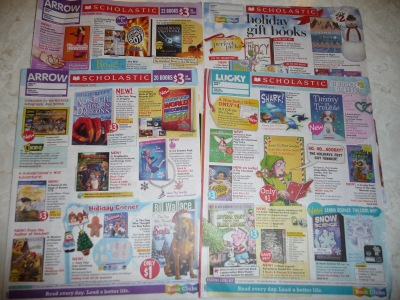 Scholastic book orders