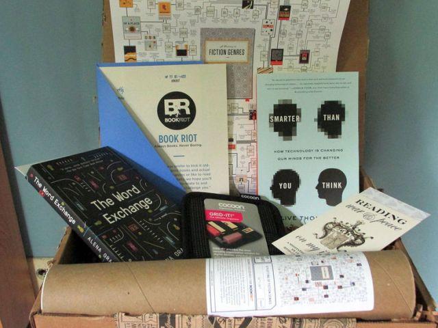 Book Riot box
