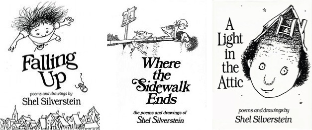 Shel Silverstein Cartoons: A To Z: This Month (and This Post) Is All About Poetry